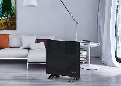 New Electric Glass Free Standing Wall Mounted Heating Panel Heater Radiator