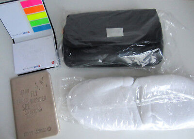 NEU+OVP Turkish Airlines Reiseset +Pantoffel, Block etc Kulturbeutel Amenity Kit