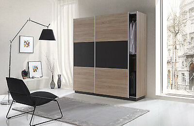 anbauwand set wohnwand kleiderschrank tv schrank kommode wandregal vitrine eur 389 00. Black Bedroom Furniture Sets. Home Design Ideas