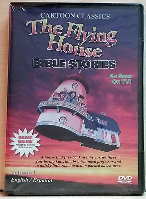 The Flying House-Bible Stories. Vol.1 (DVD, 2007) FACTORY SEALED / R1 / NTSC
