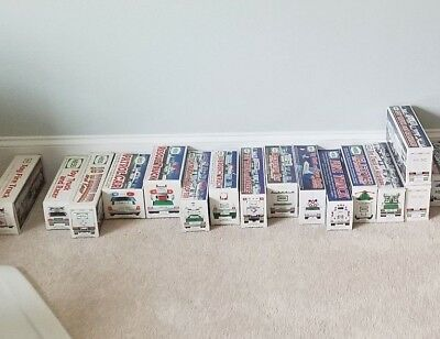 Hess Trucks Collection 1989-2003 in Original Boxes
