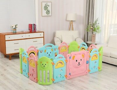 Surreal Playpen Bear For Infant & Baby Den - 14 Panels HQ
