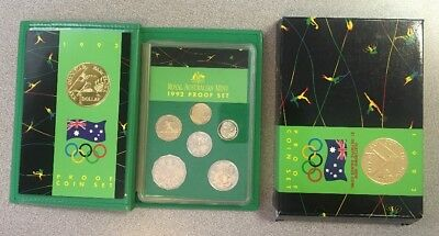 1992 Barcelona Olympic Proof Coin Set Royal Australian Mint