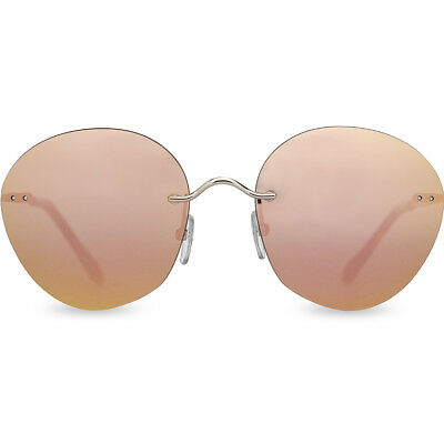 1e46f1130216 NEW TOMS WYATT Sunglasses in Crystal Peach - SALE - $140.00 | PicClick