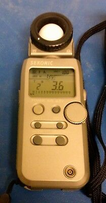 Sekonic L-358 Flashmaster Light Meter