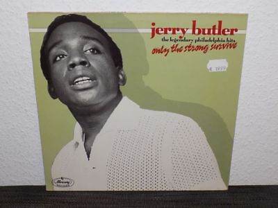 Jerry Butler - Only the strong survive - Mercury 822 212-1 Made in West Germany