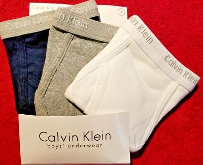 really cheap united states various styles CALVIN KLEIN BOYS Underwear Assorted Colors 3 Briefs Per Pkg ...
