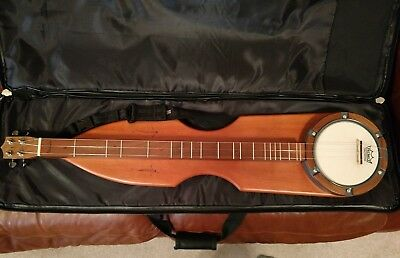 Ban Jammer Clemmer Dulcimer Banjo with case perfect condition