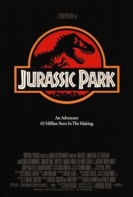 JURASSIC PARK - ONE SHEET - MOVIE POSTER 24x36 - 52591