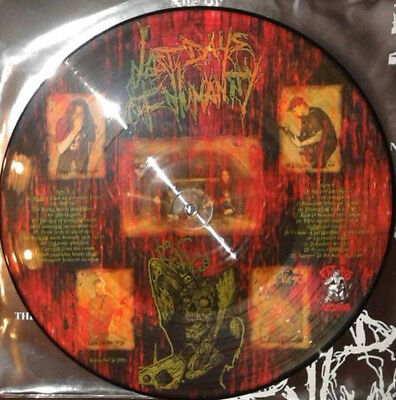 LAST DAYS OF HUMANITY Hymns Of Indigestible Suppuration PICTURE LP gore grind