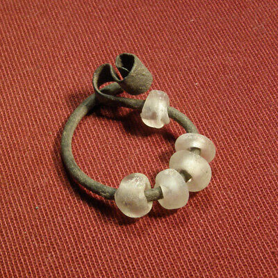 Celtic Earring with Beads