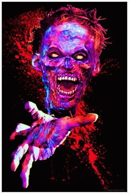 Zombie Touch - Blacklight Poster - 23X35 Flocked 53532