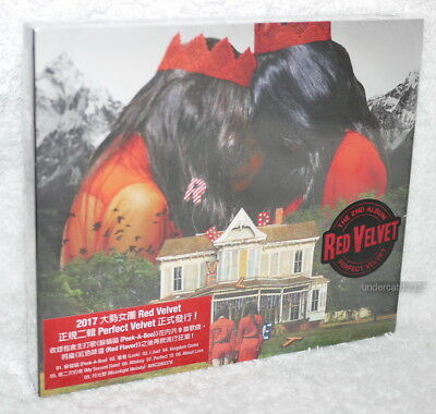 K-POP Red Velvet Vol. 2 Perfect Velvet Taiwan Ltd CD+48P photobook+Card