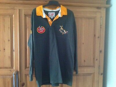 Cotton Traders South African Rugby Shirt 1992-96 Size Xl