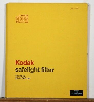 Kodak Safe Light Filter #13