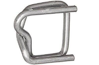 Metal Buckle 1/2 Width Silver For Polypropylene Strapping Pk 100