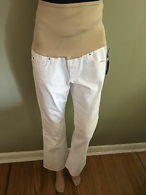 New Gap Long and Lean Maternity Size 4 SHORT (27) full panel 373755