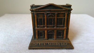 Vintage Metal Bank: American Art Works: The Keene National Bank