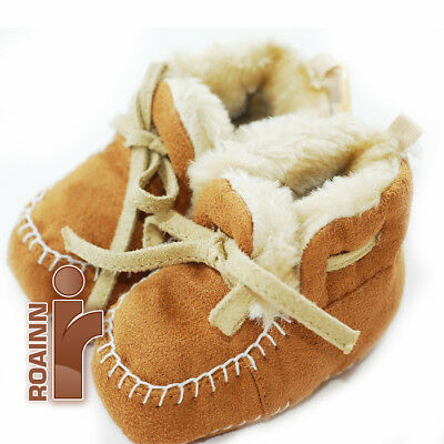 First Impressions,  Baby Booties, crawling stage, Taupe, Size 2Mos. NEW!