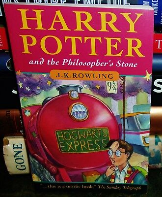Harry Potter And The Philosopher's  Stone Ist Edition Pb Book