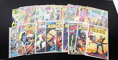 Lot 28 Eclipse Comics Airboy Issues 1-29 Run Military Dixon Truman Yeates 80's