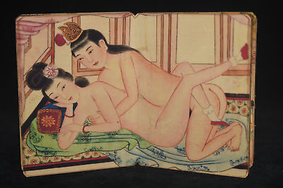 ancient painting shunga artistic erotic viusal painting book K12