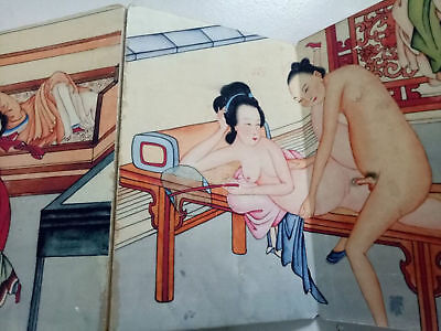 ancient painting shunga artistic erotic viusal painting book NR21