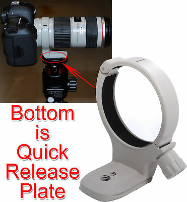 New Metal Lens Support Collar Tripod Mount Ring for Canon EF 70-200mm f/4L USM