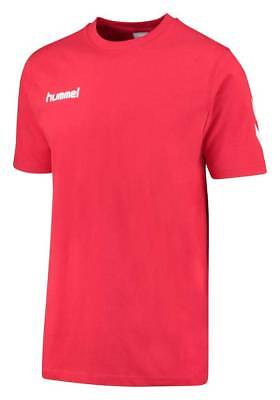 Hummel Core Cotton Tee T-Shirt rot Kinder NEU 71053