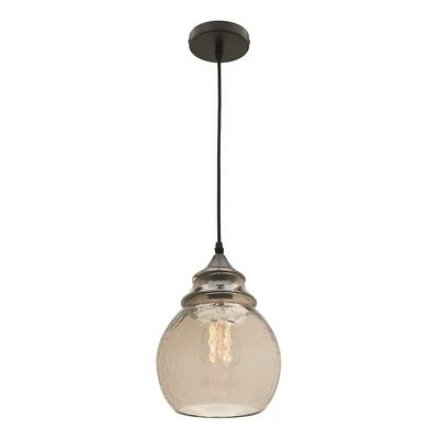 Mercator 240V Antique Glass Small Dhia Pendant Light