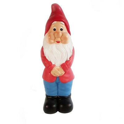 Tuscan Path 30cm Red And Blue Gnome Garden Statue