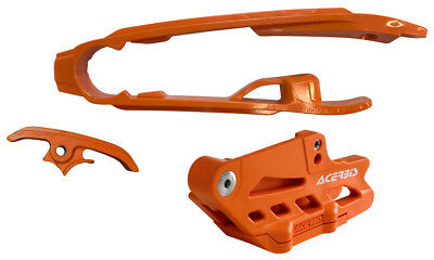 Acerbis 2462630036 2.0 Chain Guide And Slide Kits Orange