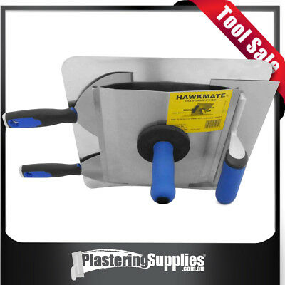 Hawkmate Plastering Tool Storage System Attaches to Plaster Hawks