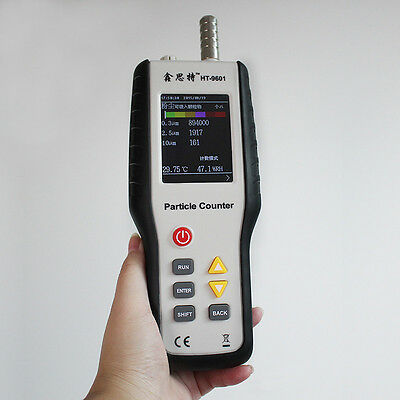 HT-9600 PM2.5 Detector Handheld Monitor Laser Dust Humidity Meter Air Analyzer
