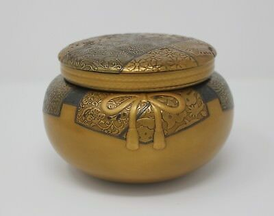 Stunning Antique Japanese Meiji Lacquer Covered Pot