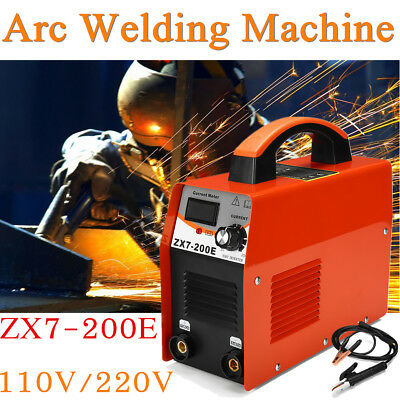 ZX7-200E ARC 120 AMP Plasma Stick Inverter Welder 110V/220V Welding Machine