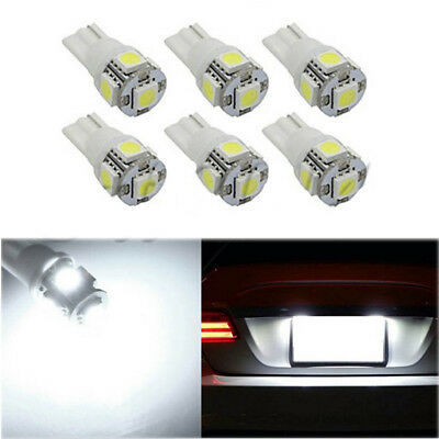 13Pcs Car White LED Lights Kit for Stock License Plate Lamps & Dome & Interior