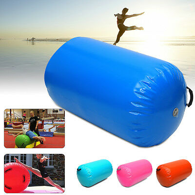 Inflatable Air Roller Home Large 100x65cm Gymnastics Cylinder GYM Gymnastic Beam