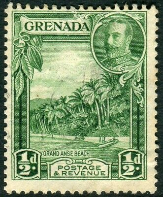 GRENADA-1934-6 ½d Green Perf 12½x13½.  A fine used example Sg 135a