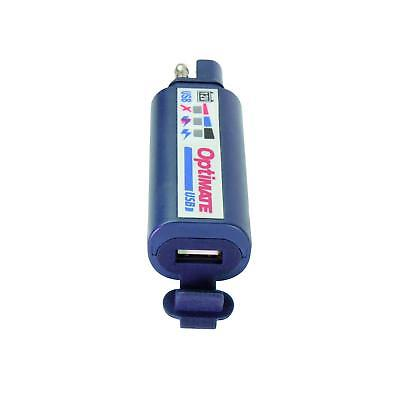 TecMate OptiMATE USB O-100, Chargeur USB 2400 mA écran batterie en 3 led
