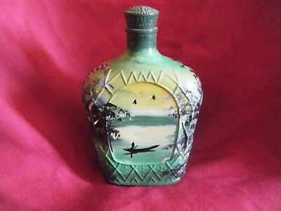 African / Nigerian Hand Painted Bottle - Rare