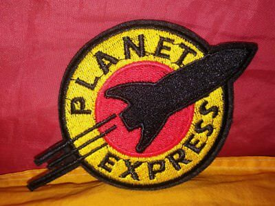 Planet Express Embroidered Patch Iron-on Art Good Luck Magic Futurama