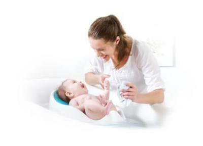 Baby Bath Support Blue Angelcare Soft Touch Comfort Safety Newborn Bathtime New