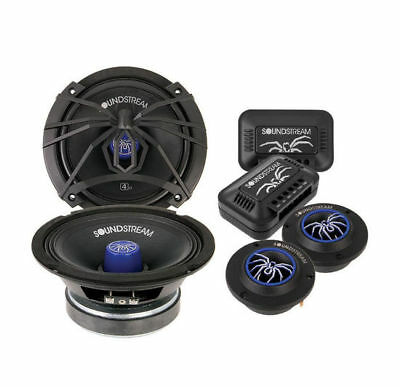 "SOUNDSTREAM 6.5"" Pro Audio Component Speakers 