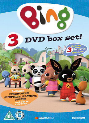 Bing Triple Collection DVD (2018) Philip Bergkvist ***NEW***