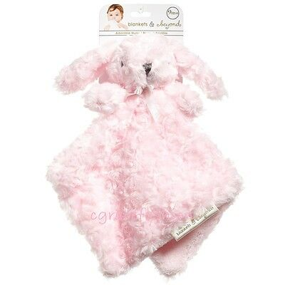 Blankets & And Beyond Baby Girl Layette Pink Rosette Nunu Bunny Rabbit Security