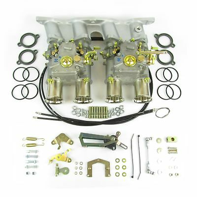 GENUINE Twin Weber 45DCOE carburettor kit for Ford Escort Cortina Pinto 2.0/2.1