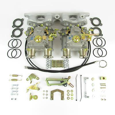 GENUINE Twin Weber 40DCOE carburettor kit for Ford Escort Cortina X/Flow 1.6/1.7