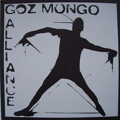 """Goz Mongo Alliance  –  Same /  2 X 7"""" Limited Edition 100 Copies Hand Stamped"""