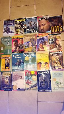 Lot Of 20 Assorted Young Teen Chapter Books-- (#220)--Free Shipping